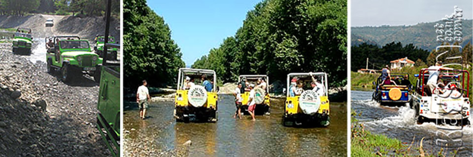 Dalyan jeep safari